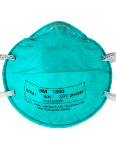 3M 1860 N95 Surgical Mask And Particulate Respirator