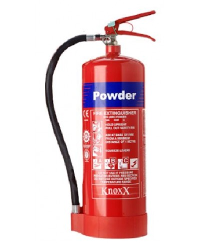 Knoxx 9kg Dry Chemical Powder (DCP) Fire Extinguisher