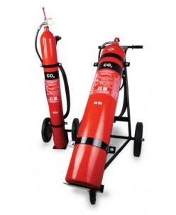 10Kg NAFFCO Mobile CO2 fire extinguishers