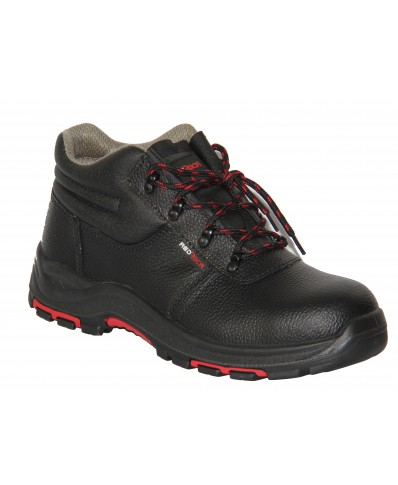 RedROCK Leather Safety Boot Black