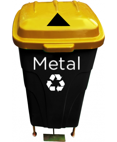 60lt Recycle Waste Bin (triangleslit)