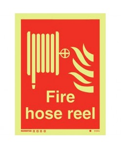 Hose Reel Sign-Photoluminscent