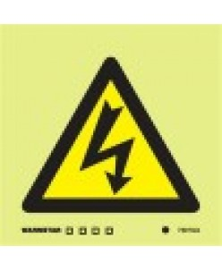 Electrical Safety Sign & Symbol-Photoluminscent