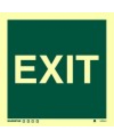 Exit Sign-Photolumincent