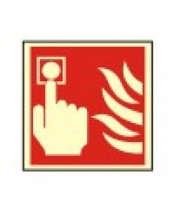 Fire Alarm sign-Photoluminscent